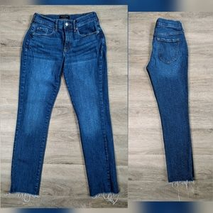 Banana Republic | straight ankle jeans | 26 | 2